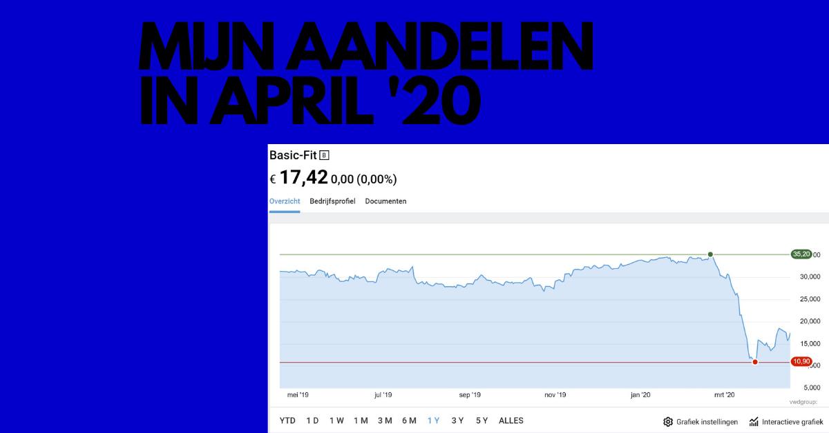 Mijn aandelen april 2020