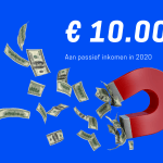 10.000+ aan passief inkomen in november 2020